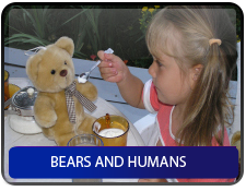 Bears and humans